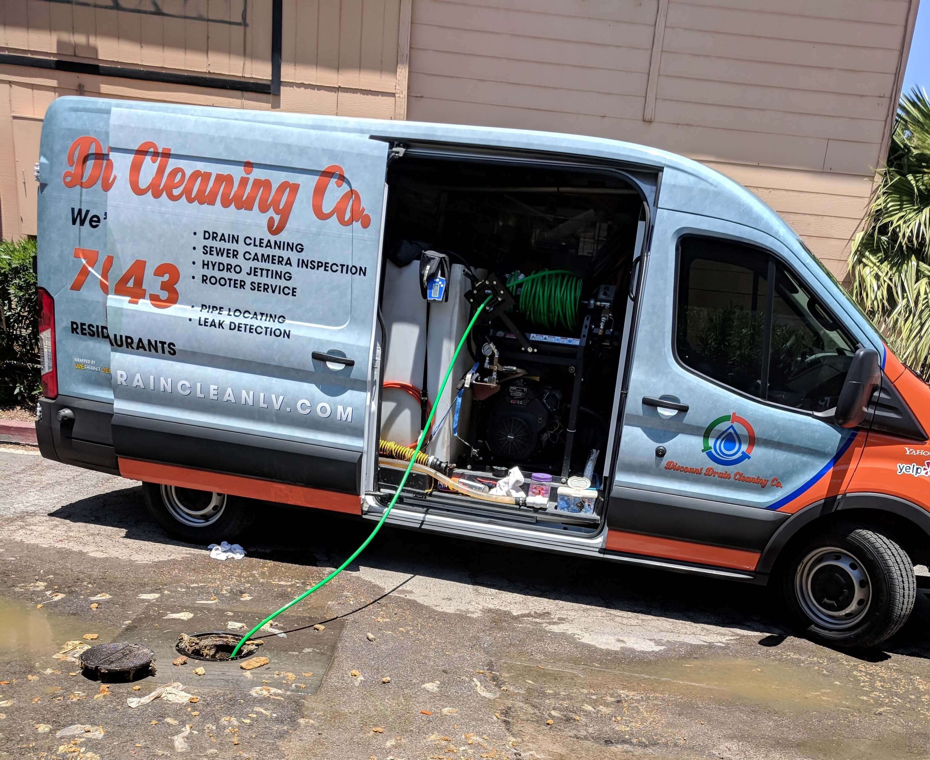 Commercial Hydro Jetting Service
