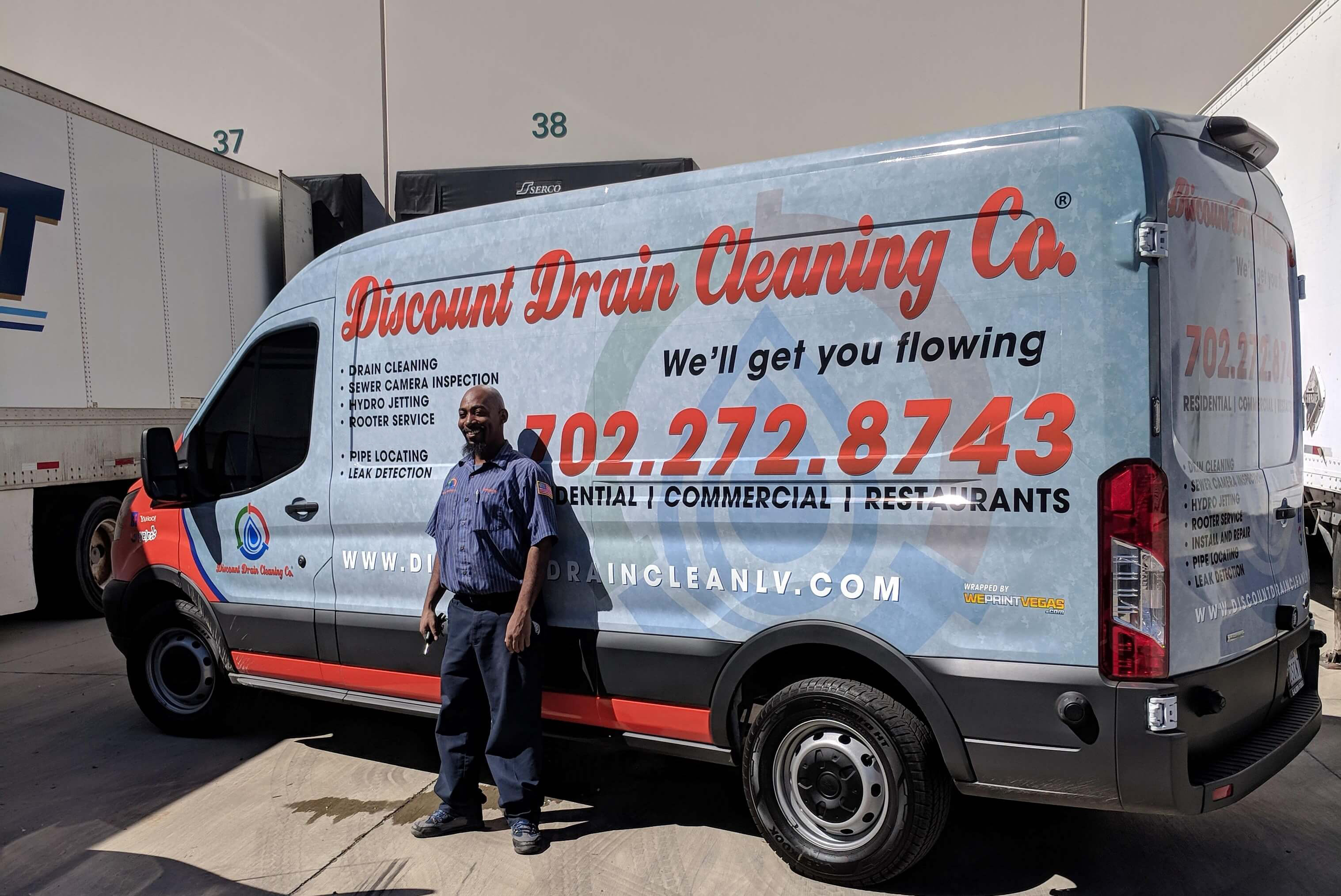 Discount Drain Cleaning Employee