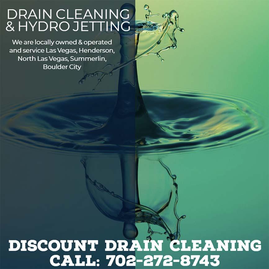 drain cleaning in Las Vegas, Hydro jetting in Summerlin, NV